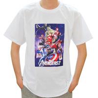 2015 Avengers Shirt Unisex Pure Cotton Colors Short Sleeve Comfort Tops Size XL XXL T Shirt Cool Tee