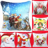 Hot Fashion Sofa Throw Pillow Cushion Pillow Case Cover Home Decor Christmas H29