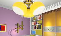 Child real brief modern lamps led ceiling light lamp lemon lighting