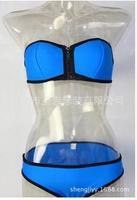 2015 new swimsuit sexy Victorian lady swimsuit bikini swimsuit bikini zipper