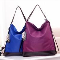 015 new multi-purpose shoulder bag fashion casual shoulder bag Messenger waterproof nylon oxford cloth imitation female shipping