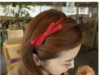 Women fashion headdress Cute Bow headband hair accessory handmade 8007al