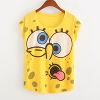 2015 New Summer Explosion Garment Printing T-shirts - Sleeve Head Of European And American Foreign Trade Wholesale