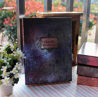 2015 Box syncronisation of lock diary vintage color page notebook free shipping