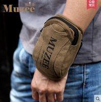 The wrist bag arm bag Mobile phone package bag Men's and women's sports bag bag key bag