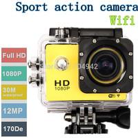 SJ4000 WiFi Sport Action Camera 1080P Full HD 30M Waterproof sport DV free shipping