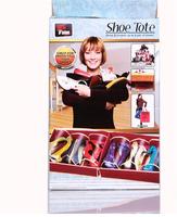 Best Comfortable Shoe Tote Travel Shoe Organizer Storage Bag 6 Pairs