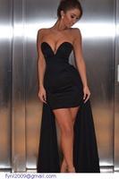 dear-lover robe de soiree roupas femininas vestidos de festa vestido longo  Sexy V Neck Party Dress evening gowns china LC21743