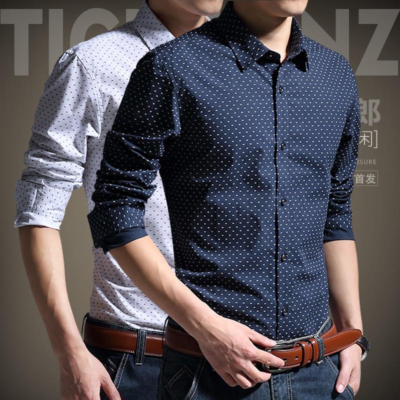 Мужские Рубашки Модные