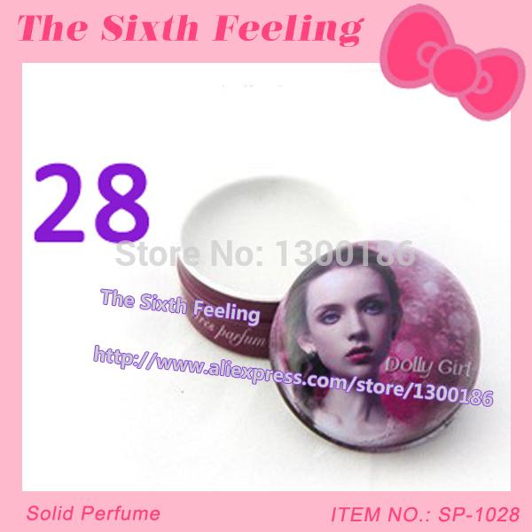 Free Shipping!Chamonix Dooly Girl fresh parfume flower and fruit fragrance original solid perfume women 15ml SP-1028(China (Mainland))