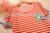 New summer dresses short sleeve T-shirt Hong Kong tide brand tiger head round collar short sleeves neutral leisure institute