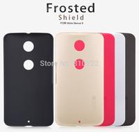 Genuine Nillkin Superb Frosted Case For Moto Nexus 6,Anti-fingerprint,Free Gift & Shipping