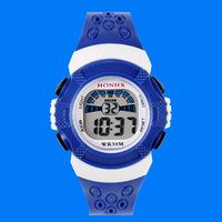 2015 boys girls students watch electronic waterproof watch digital watches LED Sports watches clock T91 50pcs/lot