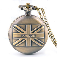 Hot Selling Concise  Round Vintage Watch Fashion & Leisure Necklace Pocket Watch For Men Children Best Gift Pocket Watches