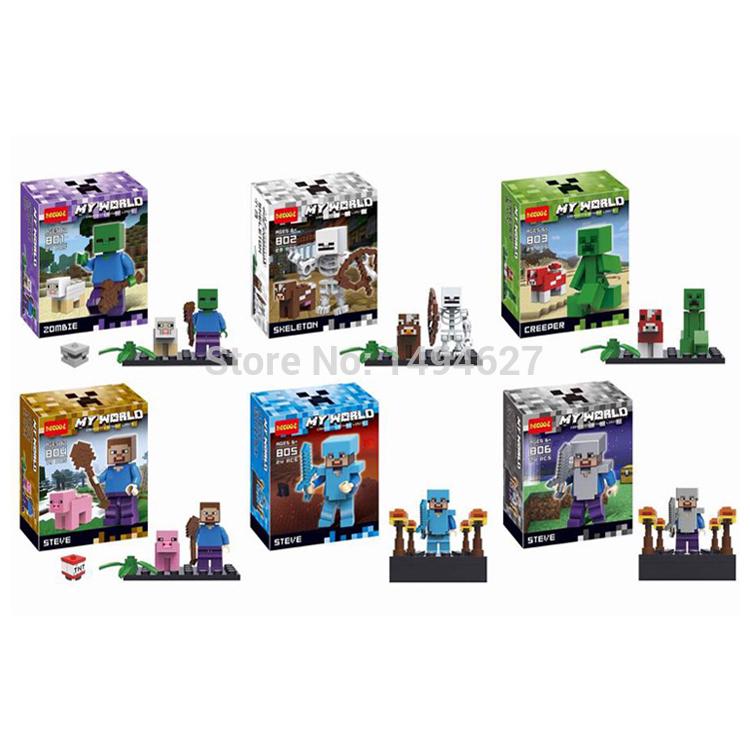 Детское лего Decool 801-806 6pcs/801/806 , детское лего baby tree 6pcs 0065 0070