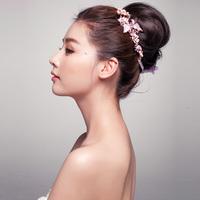 Rhinestone Bridal Head Chain Hair Jewelry Crystal Headband Wedding Hair Accessories Headpiece Tiara Noiva Headwear WIGO0351