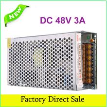 AC110V 220V to for DC 48V 3A 150W Voltage Transformer Switch Power Supply Adapter Driver for Light LED Strip(China (Mainland))