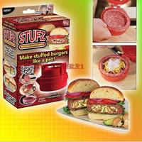 Stufz Stuffed Burger Press Hamburger Grill BBQ Patty Maker Juicy As Seen On TV !