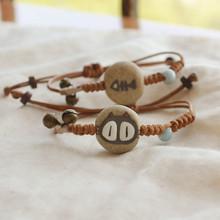 2015 NEW Charm bracelet gift for lovers honey ceramic bracelet cat or fish bone
