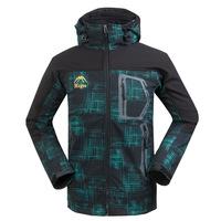 Softshell Men Jacket Windbreaker Jacket For Men Waterproof Windproof Fleece Coat  Mountaineering Jacket Free Shipping