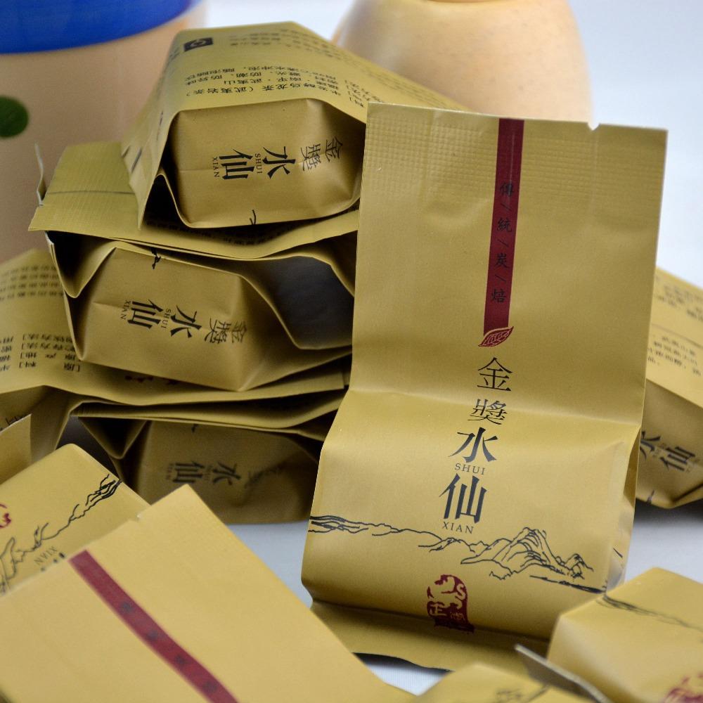 6 pcs small tea bags Shui Xian Da Hong Pao Tea big red robe wuyi cliff
