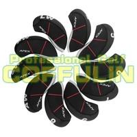 10pcs APEX PRO  Golf Irons HeadCovers Golf Iron Covers Nylon Club Head Covers Free Shipping