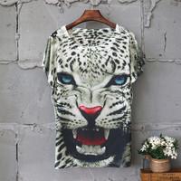 2015 New Arrival O-neck Casual Woolen Short Appliques Regular Print Regular Natural Color T-shirts 7 Color Women T shirt