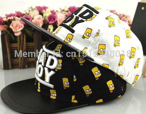 "2015 New Kids Baseball Caps Baby Hip-hop Hats Caps Fashion ""BAD"" Embroidery Snapback Cap 3-8ages Boys Girls Sun Hat(China (Mainland))"