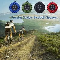 Free shipping  NFC Speaker Honeycomb  NFC Portable Outdoor Sports Wireless Bluetooth Speaker IPX4 Waterproof Bluetooth
