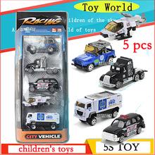 Горячего дутья 1/64 слайд автомобиля игрушки сплава оболочки глава, вертолет, полицейские машины и машины модель упаковывать коробки цвета 5 только