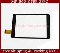 """Black/White 7.85"""" inch Tablet Touchscreen MF-500-079F-3 FPC Capacitive Touch Screen Panel Digitizer Glass Sensor Replacement"""