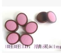 50piece/lot 4.2g Empty Refillable Bottles Cute Cake Shape Lipstick Cream Refillable Box2383
