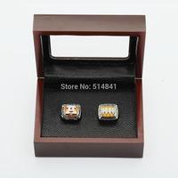 100% copper free shipping TWO(2PCS) NFL  1990 1993 Buffalo Bills SUPER BOWL CHAMPIONSHIP REPLICA FAN RINGS FULL SET