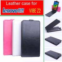 Lenovo  Vibe Z2 Case Luxury PU Leather Cover for Lenovo Vibe Z2  Flip Style 3 Colors in Stock