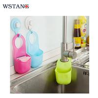 W S TANG 2015 Hook type bathroom shelves multifunctional Eco-Friendly flume snap rack hanging bag faucet storage holders racks