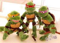 Gift for baby 1pc 40cm cartoon movie Teenage Mutant Ninja Turtles tortoise plush little doll novelty creative boy stuffed toy