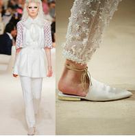 2015 Brand Pointed toe Sheepskin Ankle Strap Women's Flats Fashion Genuine leather Women flat shoes