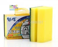 2015  Microfiber housework clean sponge brush magic brush