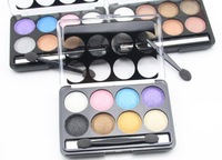 New Brand 8 Colors Eyeshadow Makeup Eye Shadow Palette Glitter To Faced High Quality With Eyeshadow Brush