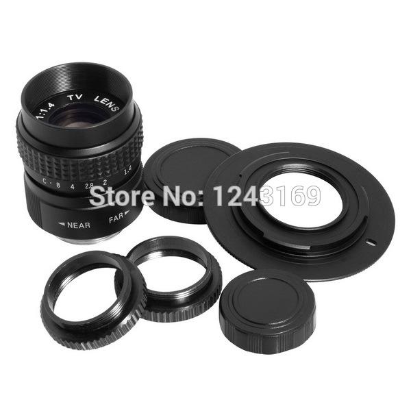 Объектив для фотокамеры Xcsource 25 f/1.4 + M4/3 + Panasonic GF3K Olympus e/pm1 lf10/sz LF010 olympus sz 14 красный