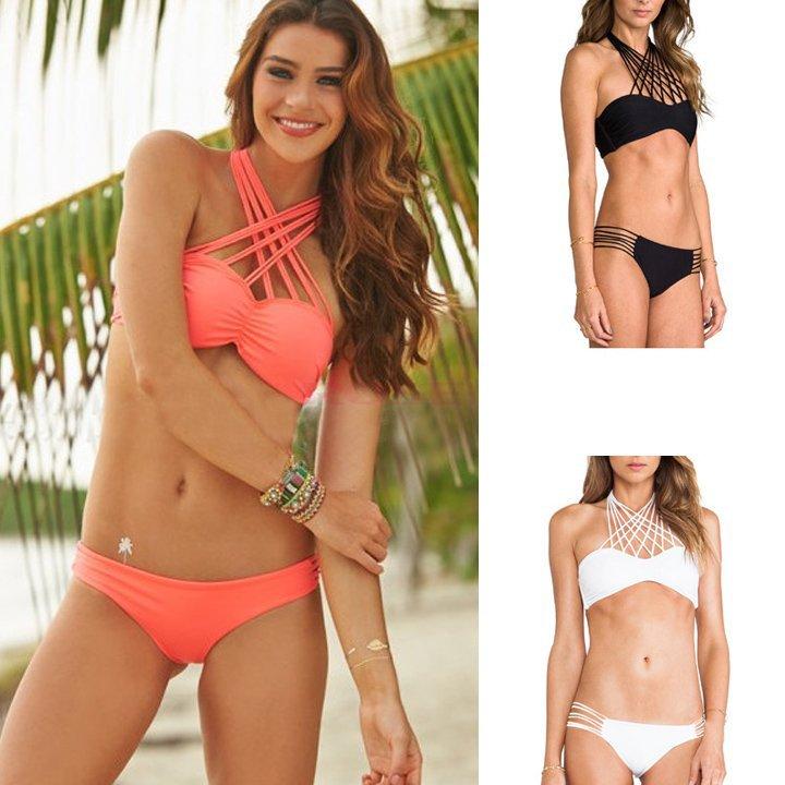 Женское бикини Bikini brazilian Biquini T-SV014362 brazilian tanga bikini 2016 swimwear women big bow thong bikini bottom sexy brazilian biquini bralette trajes de bano women