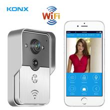 2015 New Wifi IP Video door phone, remote door access by you iphone or tablet, andriod smartphone, wireless video door phone