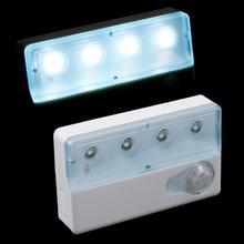 LED Advanced Infrared PIR Auto Sensor Motion Detector Light Lamp High Sensitivity Anti-interference LED Night Light(China (Mainland))