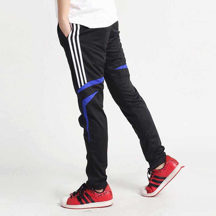 2015 New Men's Clothing Brand Male Sports Pants Football Training Jogging pants Boy Trousers sweat big size track pants slacks(China (Mainland))