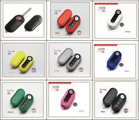 2015 3 Button Flip Key with Color Protective Case for FIAT Remote with free shipping