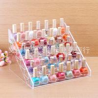 48 bottles of nail polish frame, contact lens medicine bottle display, goods display shelf