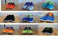 Free shipping summer hot sell Brand name 5.0 v2 mesh sport Barefoot running Men's shoes 40-45