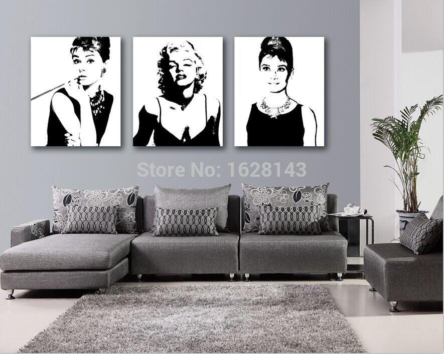 compra marilyn monroe l mina online al por mayor de china. Black Bedroom Furniture Sets. Home Design Ideas