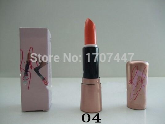 2PCS High quality Make Up Nude colors Lipsticks branded Makeup Matte Lipstick Cream Beeswax lip care waterproof sexy lipstick(China (Mainland))