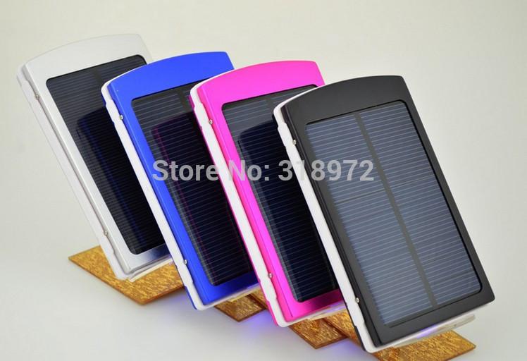 2015 New Free shipping 15000mAh solar battery charger power bank universal adaptation for Phone/Tablet/Camera/GPS/PSP etc 30sets(China (Mainland))